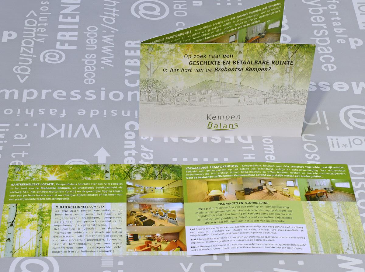 KempenBalans, reclame, ontwerp, huisstijl, grafische vormgeving, bedrijfsfotografie, DTP, reclame-uiting, brochure, portfolio