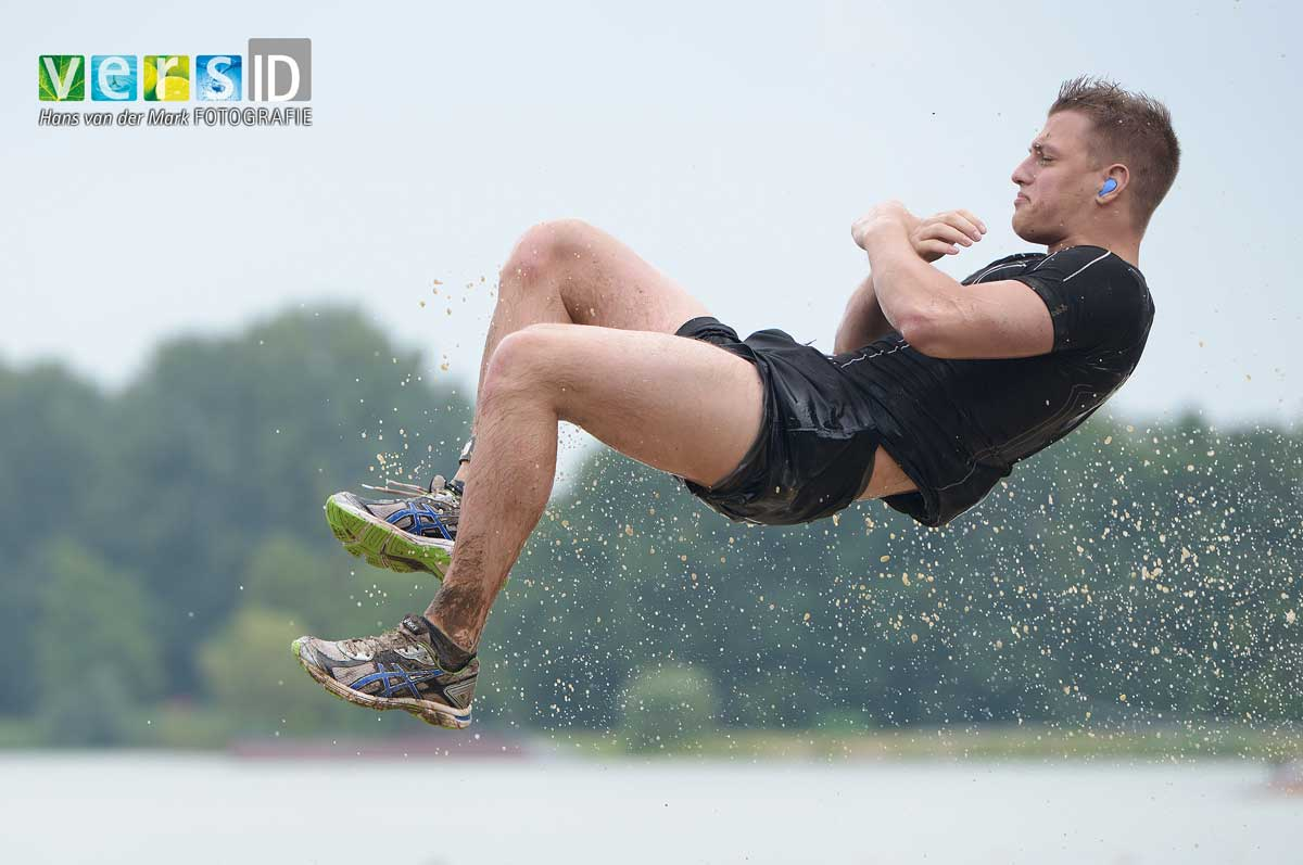 Sportfotografie, Strong Viking, Obstacle run, Water, portfolio