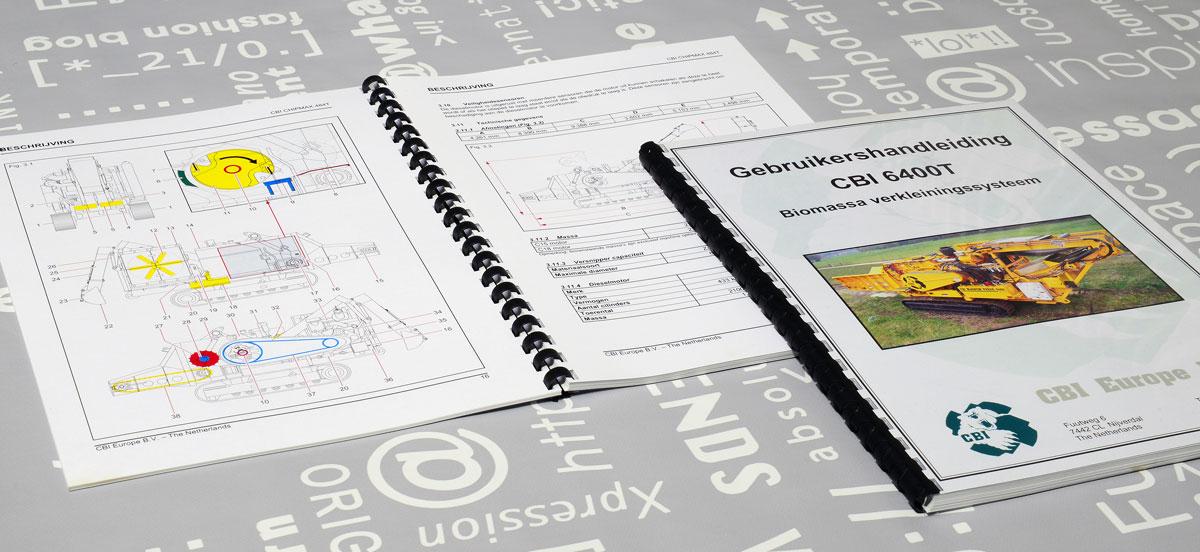 CBI, Technische illustraties, Technische handleidingen, Technische documentatie, Gebruikershandleiding, tekst, Portfolio