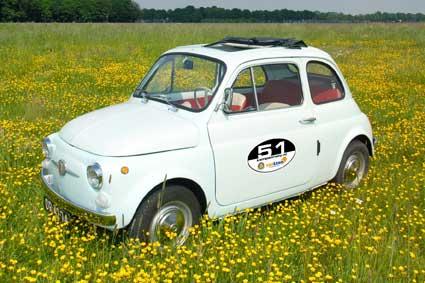 Fiat 500, Kempenrally, Rotary, nieuws
