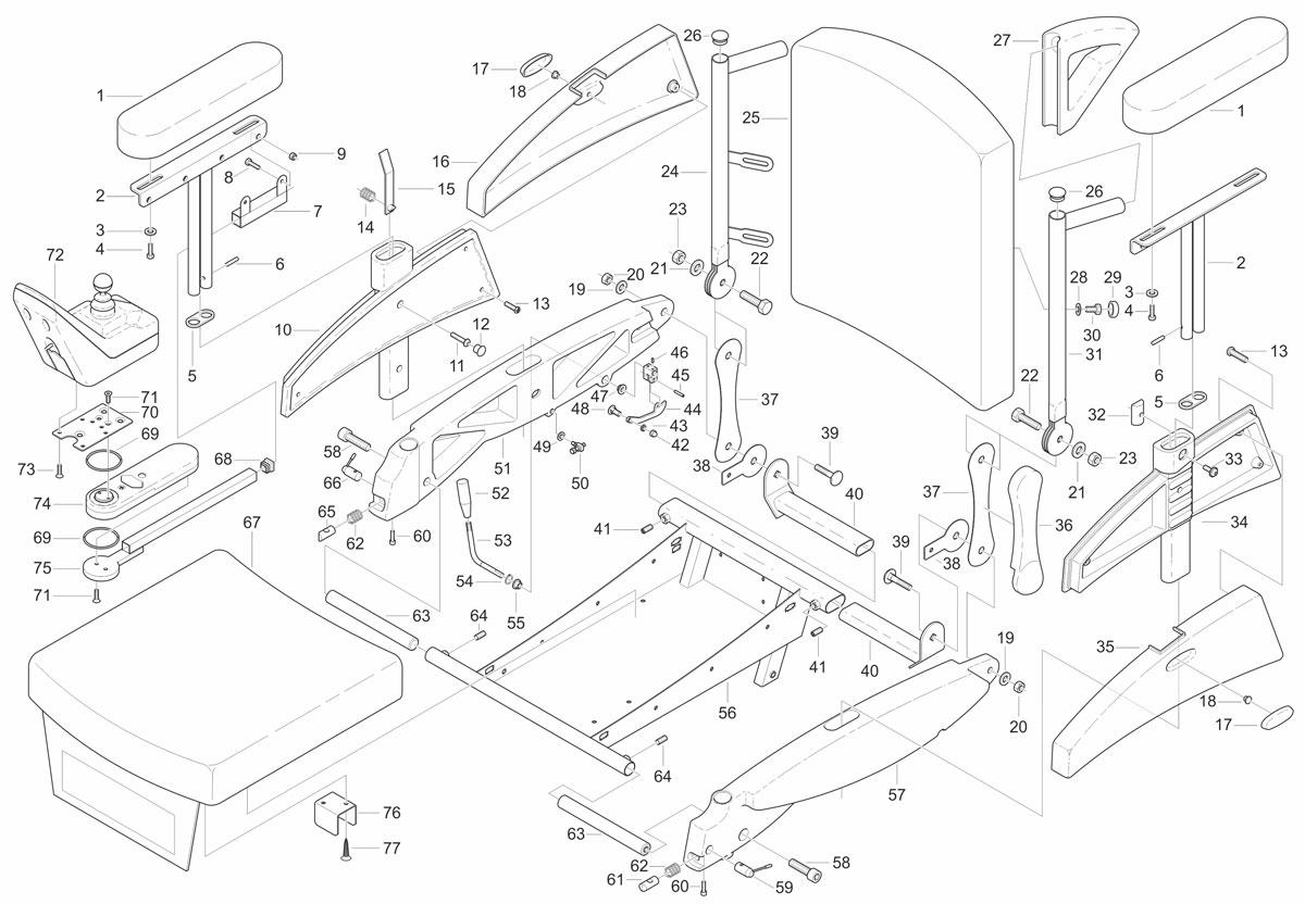 Ligtvoet, Technische illustraties, Technische handleidingen, Technische documentatie, instructie tekening
