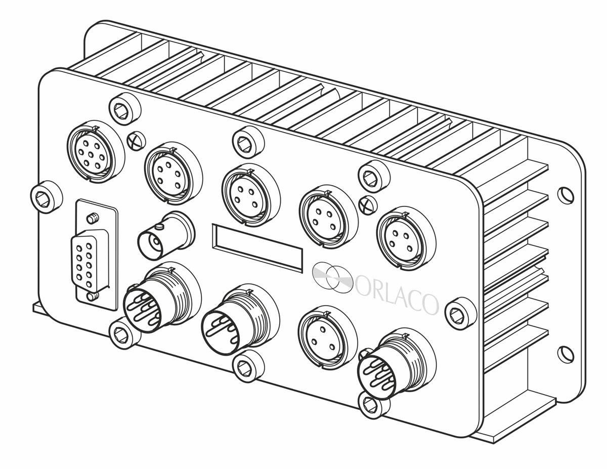 Orlaco, Technische illustraties, Technische handleidingen, Technische documentatie, Product illustratie