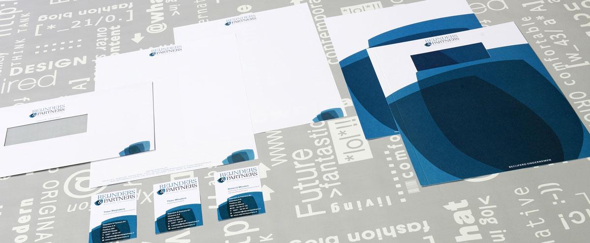 Reijnders & Partners, reclame, DTP, reclame-uiting, huisstijl, portfolio
