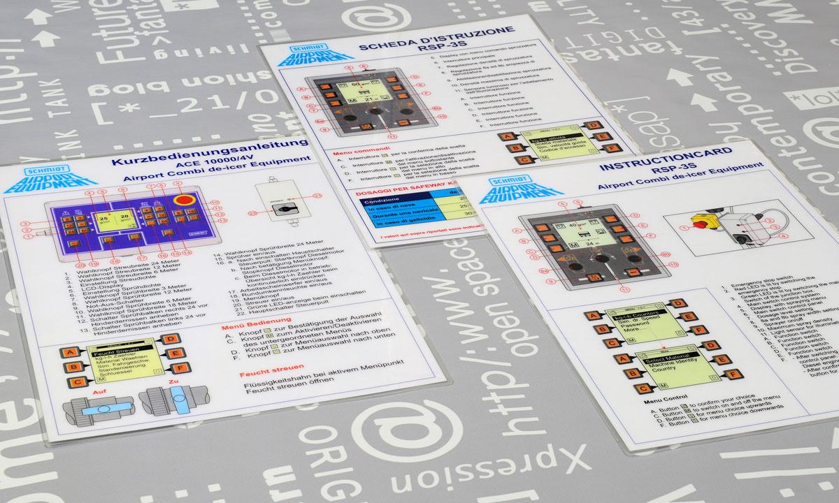 Schmidt, Technische illustraties, Technische handleidingen, Technische documentatie, instructiekaart