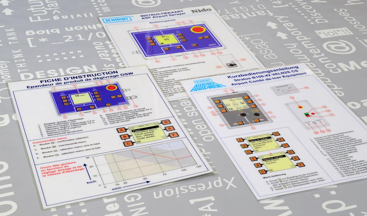 Schmidt, Technische illustraties, Technische handleidingen, Technische documentatie, instructiekaart, Portfolio