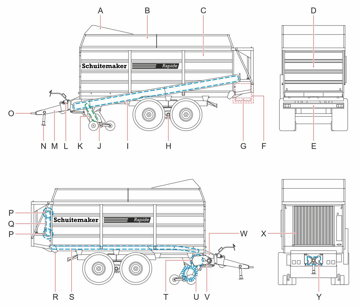 Schuitemaker, Technische illustraties, Technische handleidingen, Technische documentatie, Lijnillustratie