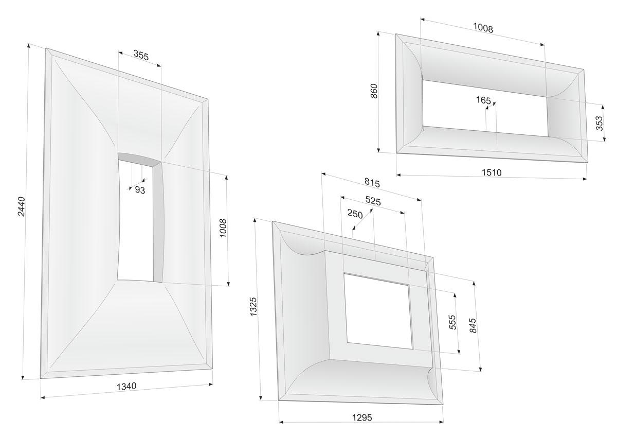 Tulp, Technische illustraties, Technische handleidingen, Technische documentatie, Maatschets