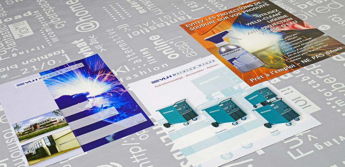 VLH, reclame, ontwerp, logo, huisstijl, grafische vormgeving, DTP, reclame-uiting, flyers, Portfolio