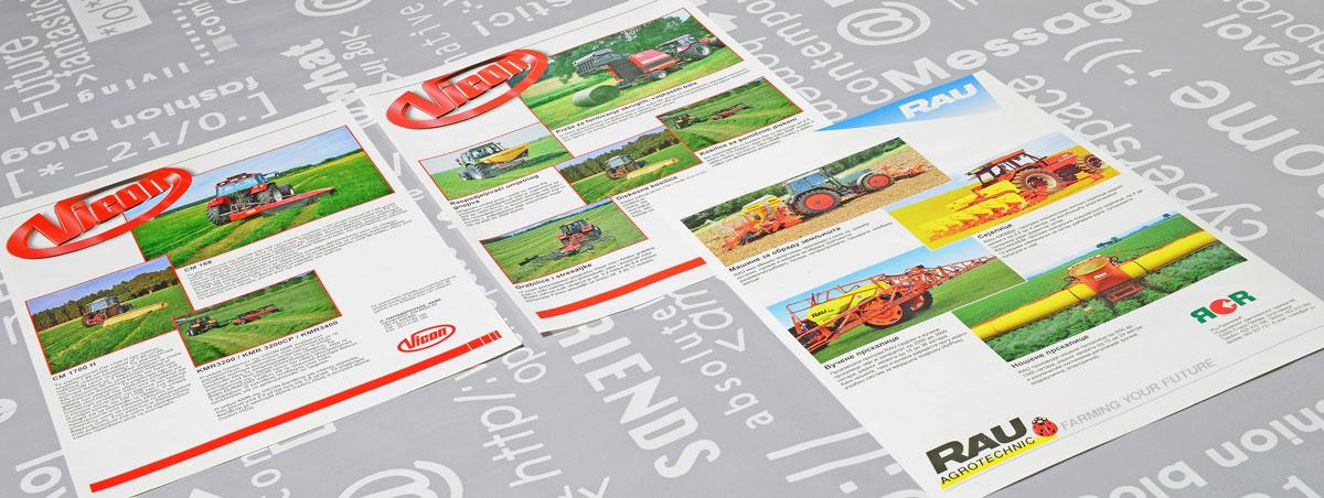 Vicon, reclame, ontwerp, logo, huisstijl, grafische vormgeving, DTP, reclame-uiting, flyers