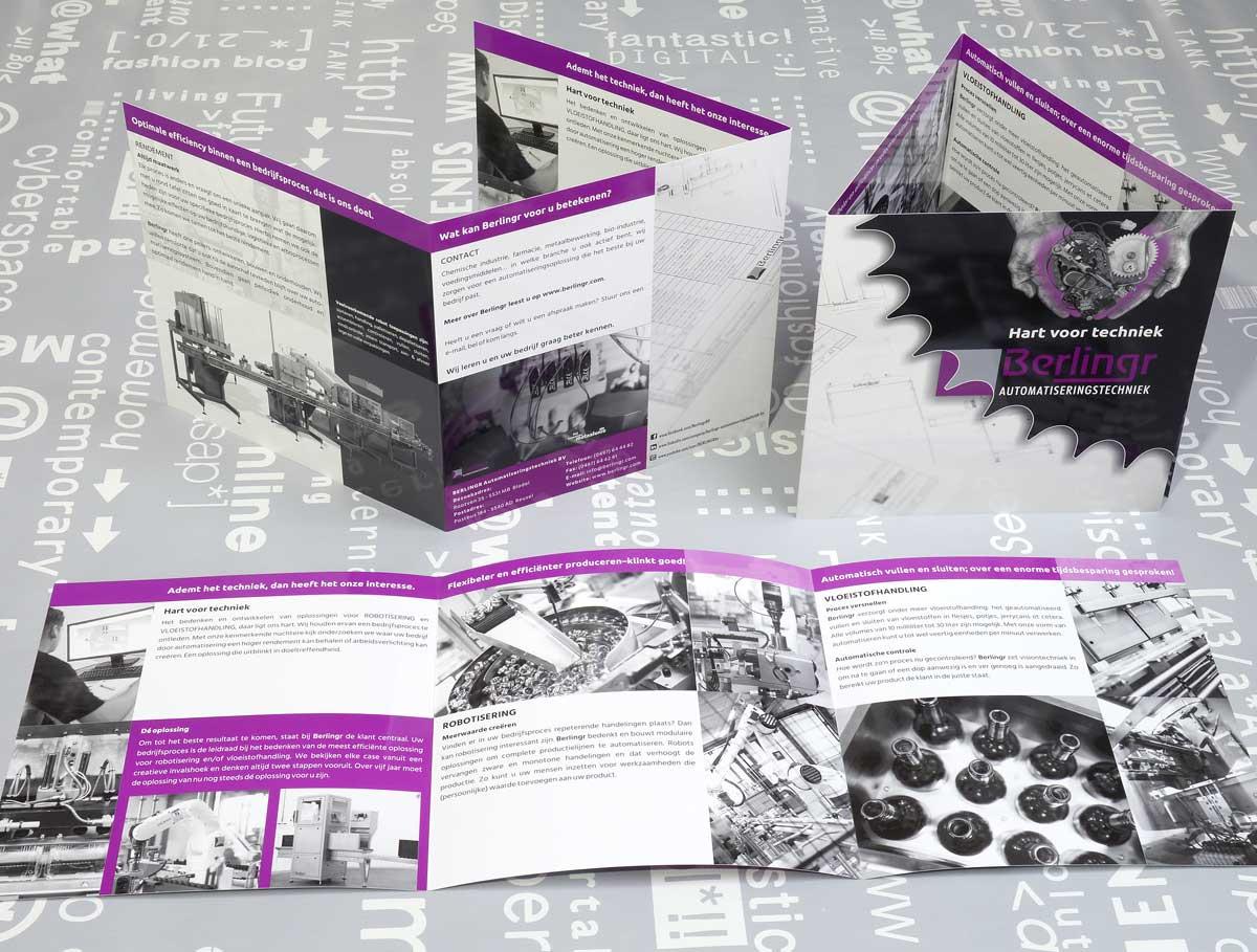Berlingr, reclame, ontwerp, logo, huisstijl, grafische vormgeving, beeldbewerking, tekst, opmaak, realisatie, DTP, reclame-uiting, brochure, portfolio