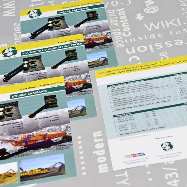 CBI Europe, flyer, ontwerp, huisstijl, reclame, grafische vormgeving, DTP, reclame-uiting, portfolio