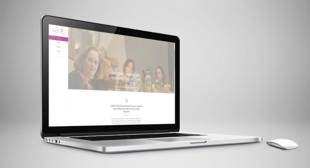 Ladies Sociëteit de Kempen, website, webdesign, logo, identiteit, tekst, fotografie, beeldbewerking, realisatie, ontwerp, webtekst, reclame, reclame-uiting, nieuws
