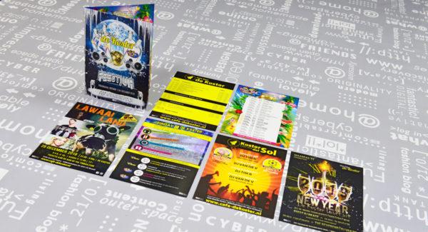 Café-Zaal-de-Koster-en-Mini-Park-folders-posters-flyers-entree-kaarten-advertenties-identiteit-branding-huisstijl-ontwerp-reclame-uiting-portfolio-Bladel