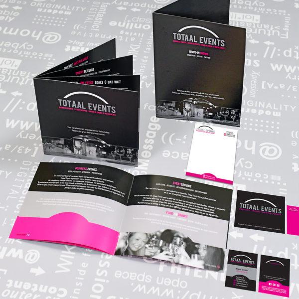Totaal-Events-identiteit-huisstijl-grafisch-ontwerp-brochure-folder-offertemap-notitieblok-banner-stickers-fotografie-branding-reclame-uiting-portfolio-Bladel