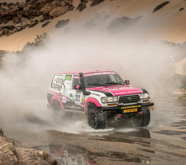 Les Gazelles, Tuareg Rally, Ladies Societeit de Kempen, partner, Autoschade Theo Lauwers, Nieuws, Bladel