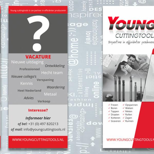 Young Cuttingtools Eersel, identiteit, branding, logo, huisstijl, ontwerp, banner, brochure, powerpointpresentatie, nieuwsbrief, bedrijfsfotografie, promotiefotografie, reclame, portfolio