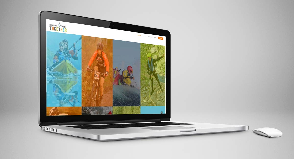 Adventure Team Together, logo, website, webdesign, identiteit, reclame, Training Unit, Eco Challenge, portfolio