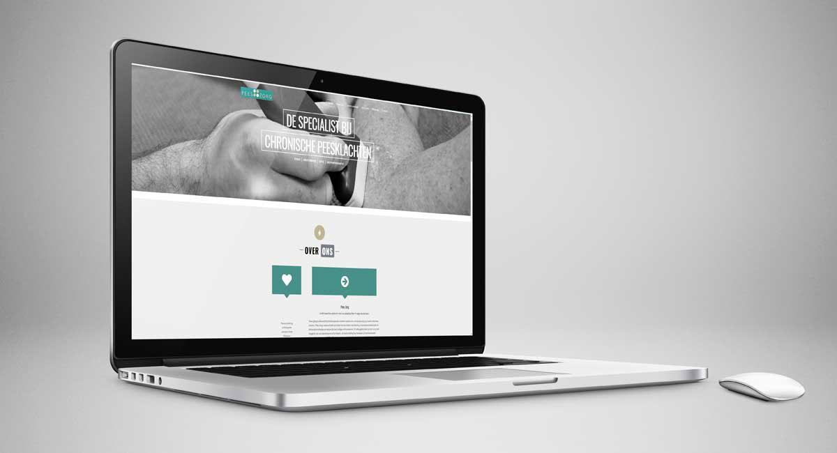 Pees Zorg, website, webdesign, beeldbewerking, realisatie, ontwerp, huisstijl, reclame, grafische vormgeving, tekst, DTP, reclame-uiting, portfolio